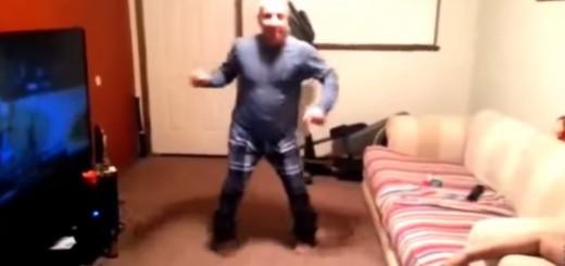 Parodė, kaip reikia šokti