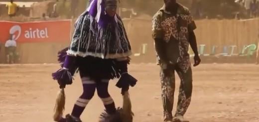 Nuotaikingas aborigenų šokis