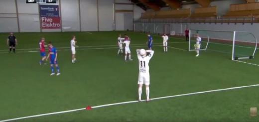 Futbolo varžybos su 3D akiniais